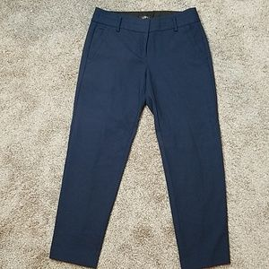 Loft Marissa Navy Wool Work Career Dress Pants
